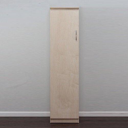 Flat Iron Left Slim Linen Closet