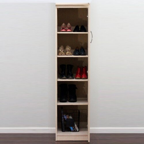 Flat Iron Right Slim Linen Closet