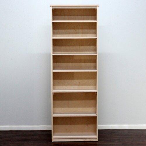 "Gothic Furniture Lexington 84"" Birch Bookcase"