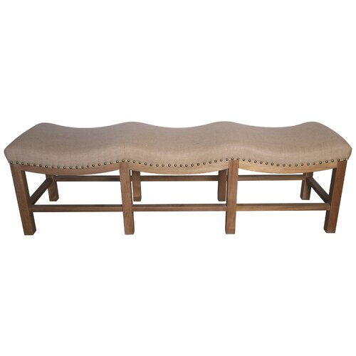 Claudia Wood Entryway Bench