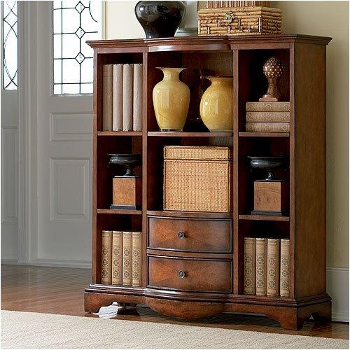 """HeatherBrooke Furniture Camlin Estate 48"""" Bookcase"""