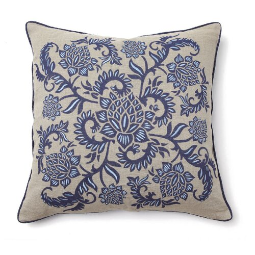 Kosas Home Full Bloom Whirl Pillow