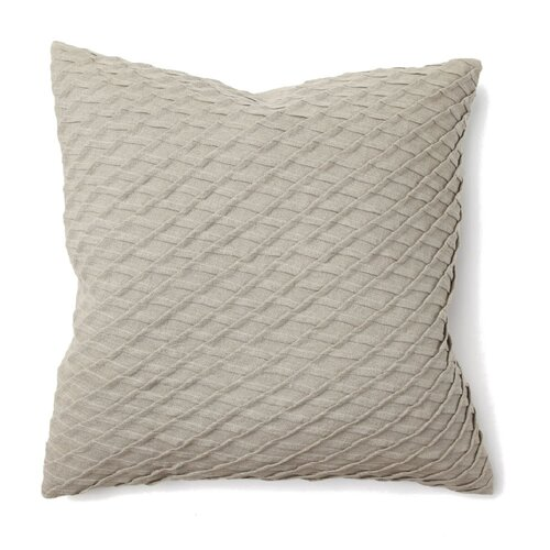 Kosas Home IIIusion Sara Pleat Nat Pillow