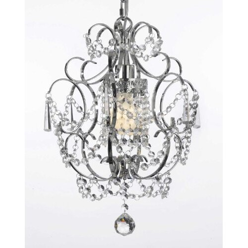 Versailles 1 Light Crystal Chandelier