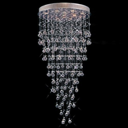Rain Drop 22 Light Crystal Chandelier
