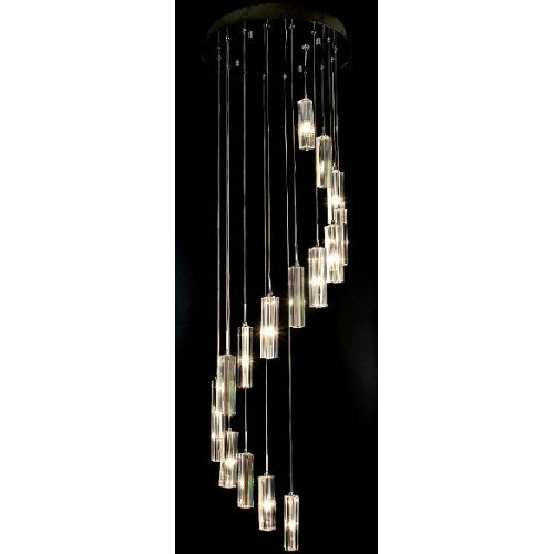 Modern 15 Light Crystal Chandelier