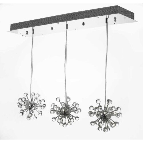 Modern 18 Light Crystal Chandelier