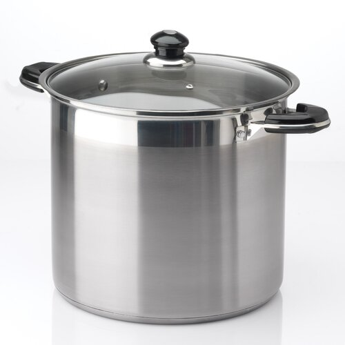 20-qt. Stock Pot with Lid