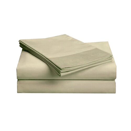 Embroidered Majestic Sheet Set