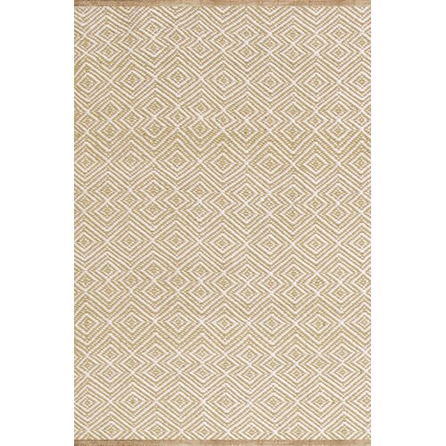 Annabelle Wheat Diamond Indoor/Outdoor Rug