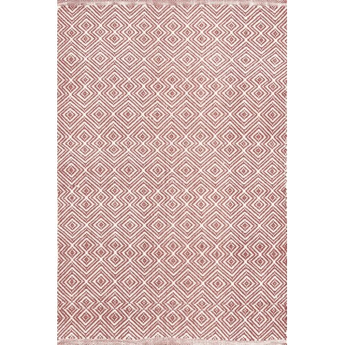 Annabelle Copper Diamond Indoor/Outdoor Rug