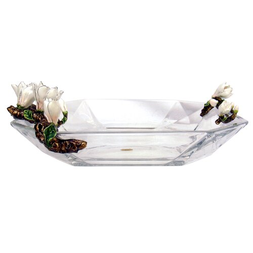 Limited Edition Crystal Gardenia Plate