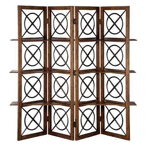 Rustic wood room divider wayfair