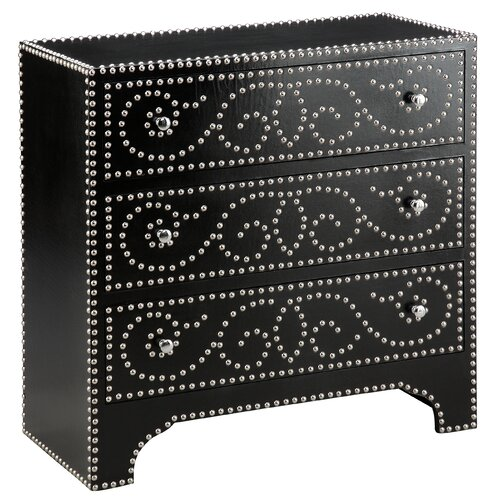 Wood Trends Richly Detailed 3 Drawer Accent Chest