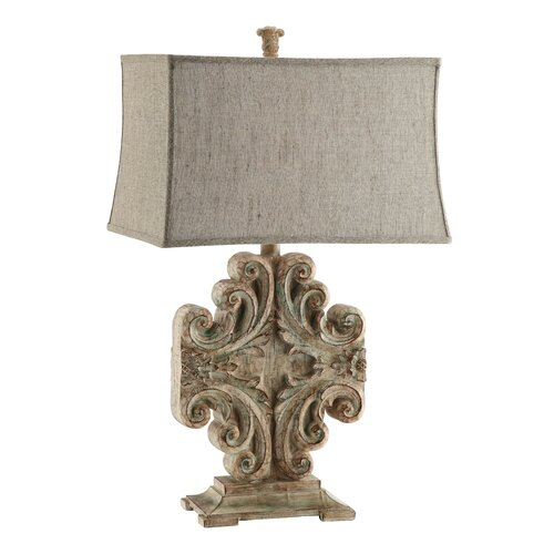 Stein World Sonia Vintage Scroll Table Lamp
