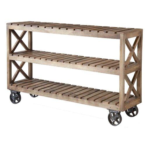 wood shelf cart wayfair. Black Bedroom Furniture Sets. Home Design Ideas