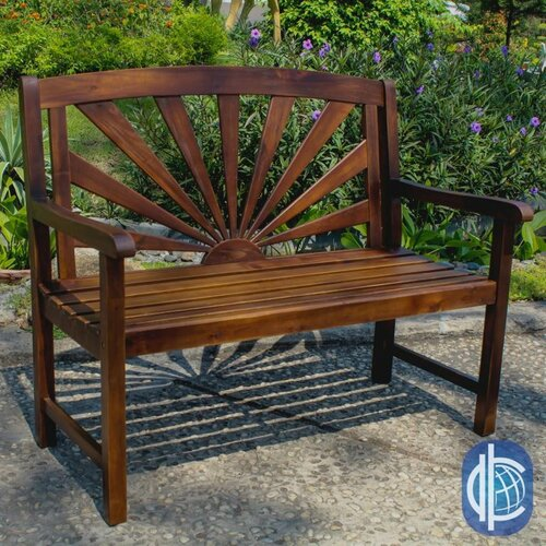 International Caravan Highland Sapporo Outdoor Garden Bench