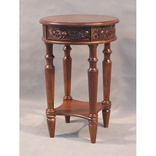 International Caravan Shangri-La End Table