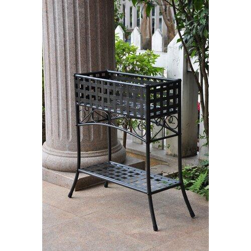 Caravan mandalay iron outdoor plant stand amp reviews wayfair
