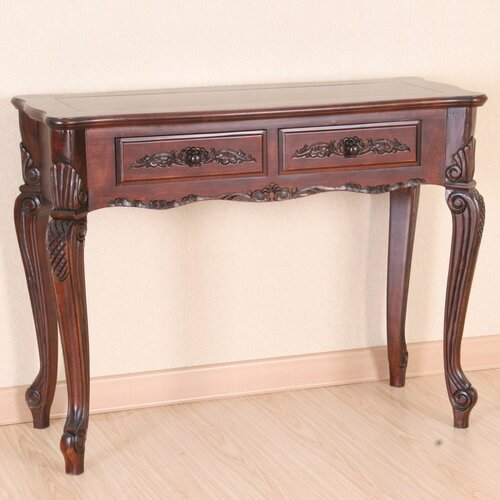 Windsor Wood Console Table