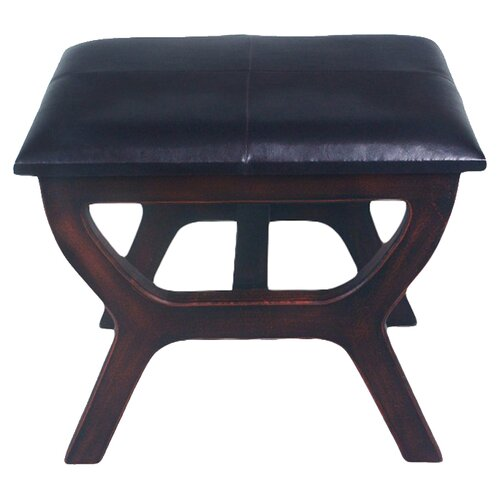 International Caravan Stool with Wood Leg