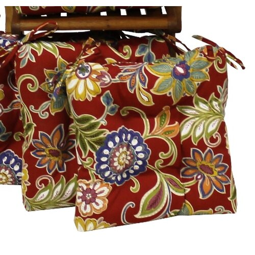All-weather UV-resistant Square Patio Chair Cushions (Set of 4)