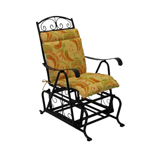 Blazing Needles Outdoor Glider Chair Cushion