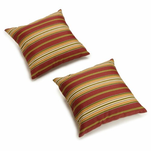 All-Weather 18-inch Outdoor Throw Pillows (Set of 2)