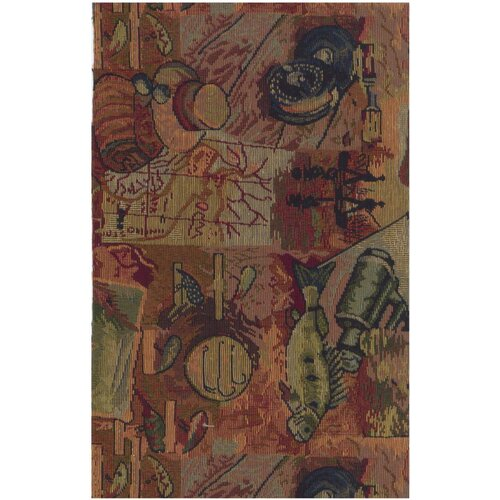 Blazing Needles Tapestry Gone Fishing Futon Slipcover