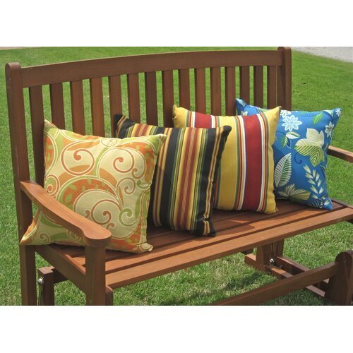 Blazing Needles All-Weather Outdoor Throw Pillow