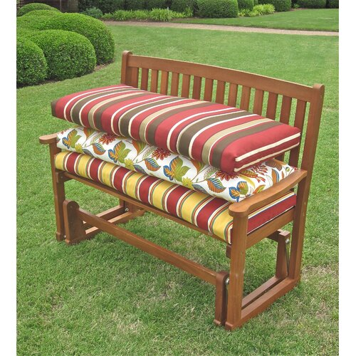 Blazing Needles Outdoor Double Glider Bench Cushion