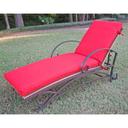 Outdoor Patio Replacement Chaise Lounge Cushion