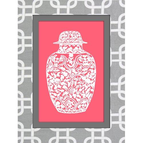 Jar Graphic Art on Canvas