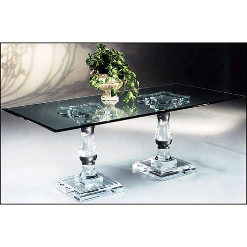 Muniz Corinthian Double Pedestal Dining Table