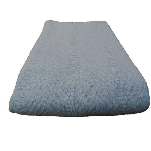 Egyptian Cotton Herringbone Blanket
