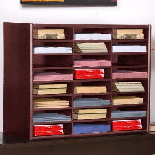 Concepts in Wood Compartment Literature Organizer