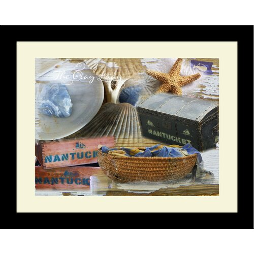 Cape Cod The Gray Lady - Nantucket Framed Photographic Print