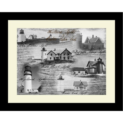 Lighthouse Historic Lights Outer Cape Cod Framed Photographic Print