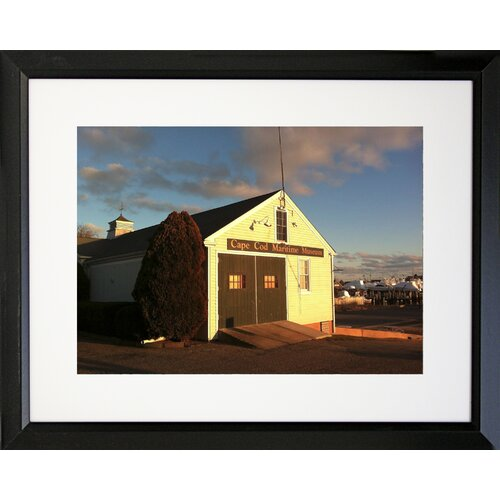 Graffitee Studios Cape Cod CC Mairtime Museum - Hyannis Framed Photographic Print
