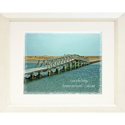 Cape Cod Boardwalk Bridge - Sandwich Framed Photographic Print