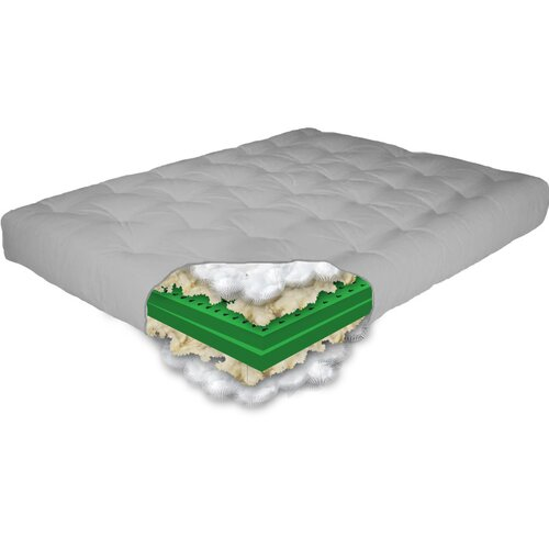 The Futon Shop Comfort Rest 2 Piece Latex Futon Mattress Set