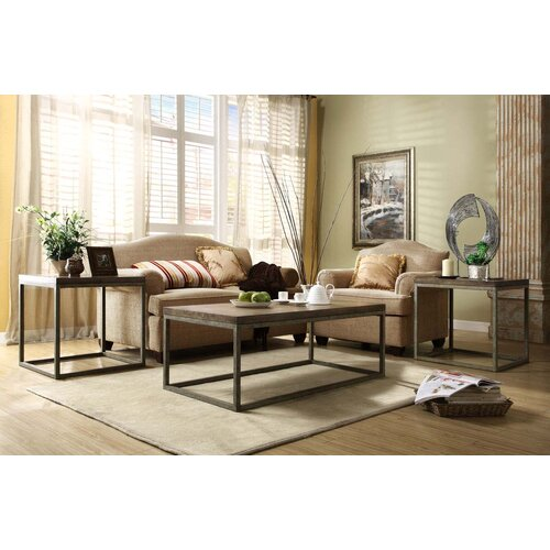 Azteca Three Piece Coffee Table Set