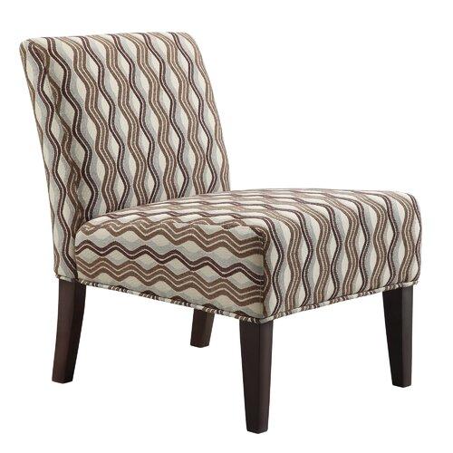 Novella Wavy Stripe Slipper Chair
