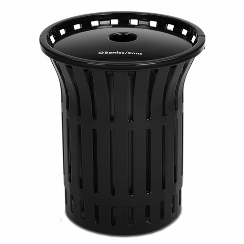 Rendezvous Recycling Receptacle with Recycler Top