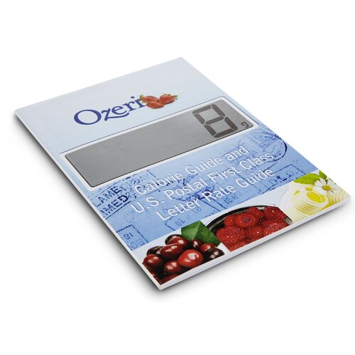 Ozeri Touch Professional Digital Kitchen Scale (18 lbs Edition)