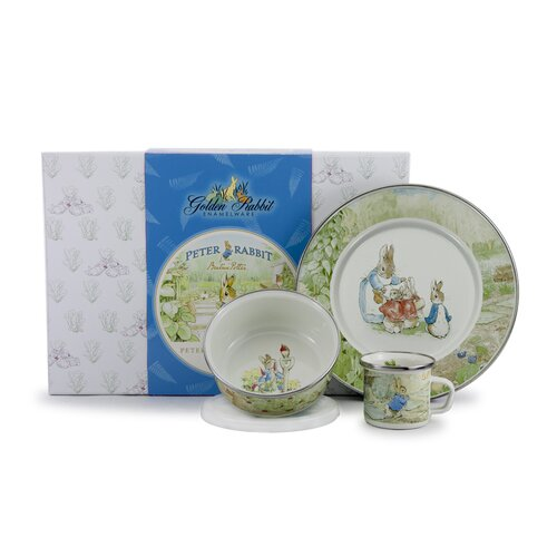 Peter Rabbit Children's 3 Piece Place Setting