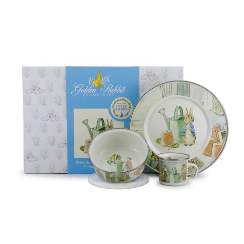 Peter and the Watering Can Children's 3 Piece Place Setting