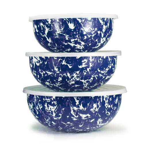 3 Piece Swirl Mixing Bowl Set