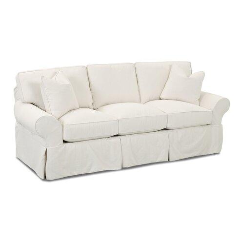 Wayfair custom upholstery casey sofa reviews wayfair for White sectional sofa wayfair
