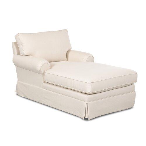 Round chaise lounge wayfair for Ashley sanford chaise